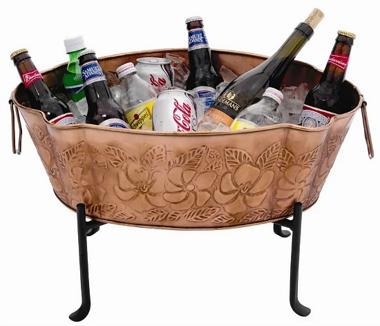 Embossed Beverage Tub