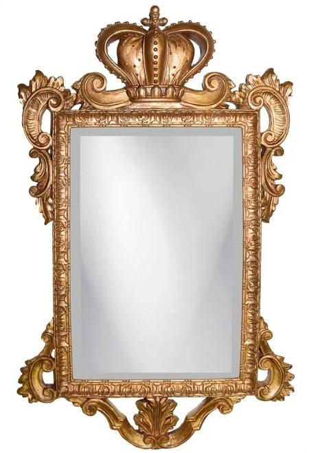 Royal Crown Wall Mirror