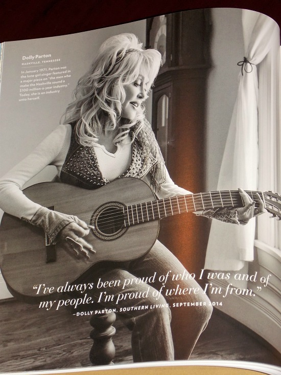Dolly Parton Southern Living