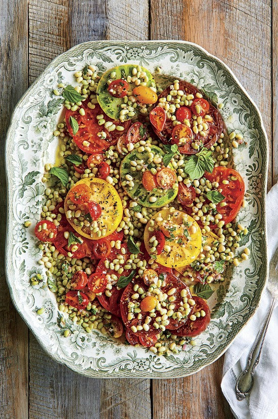 Field Pea-Tomato Salad With Lemon Vinaigrette