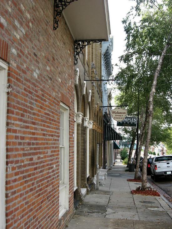 streets in Natchez