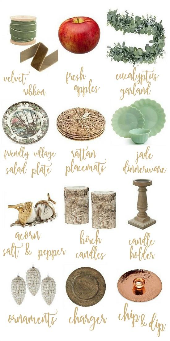 Simple Yet Elegant Thanksgiving Table
