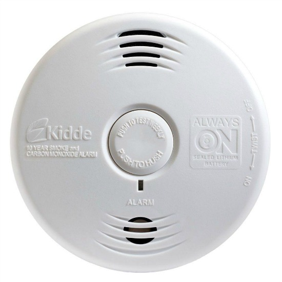 Kidde Worry Free 10-Year Sealed Battery Smoke and Carbon Monoxide Detector