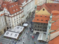 Old Town Square, from the Clock Tower, Prague