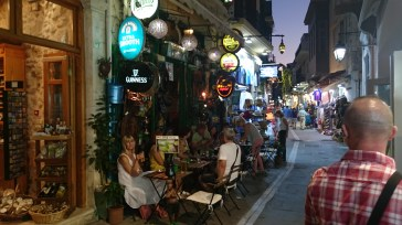 A rather quirky 'Irish' Bar in Rethymno Old Town
