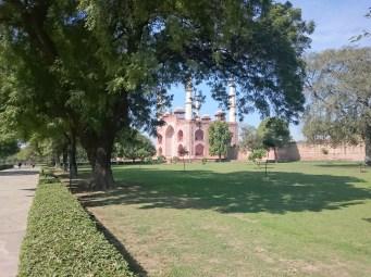 Main gateway at Sikandra