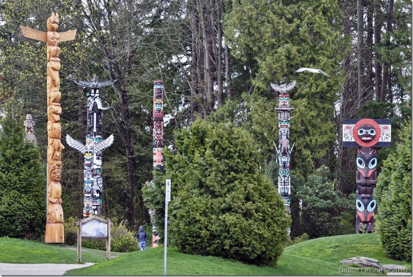 Totem Poles - Click to see larger image in my Photo Gallery