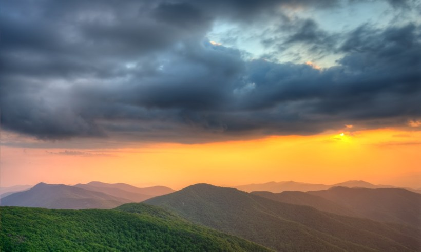 Smoky Mountains Sunset - Click to see in hi def!