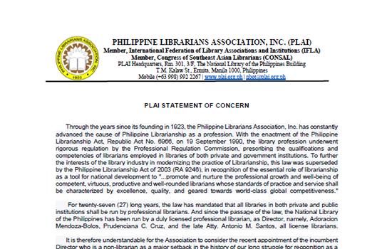 Philippine Librarians Association, Inc
