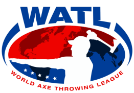 World Axe Throwing League Logo