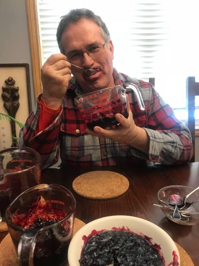 Tasting Black Currant Jam
