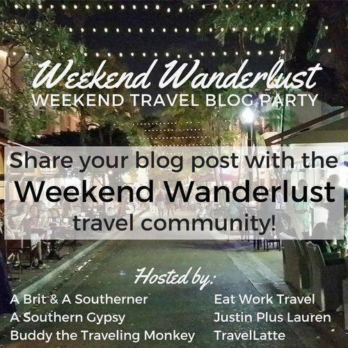 Weekend Wanderlust - join Plaid Shirt Yoga Pants in discovering new blogs and great reads!