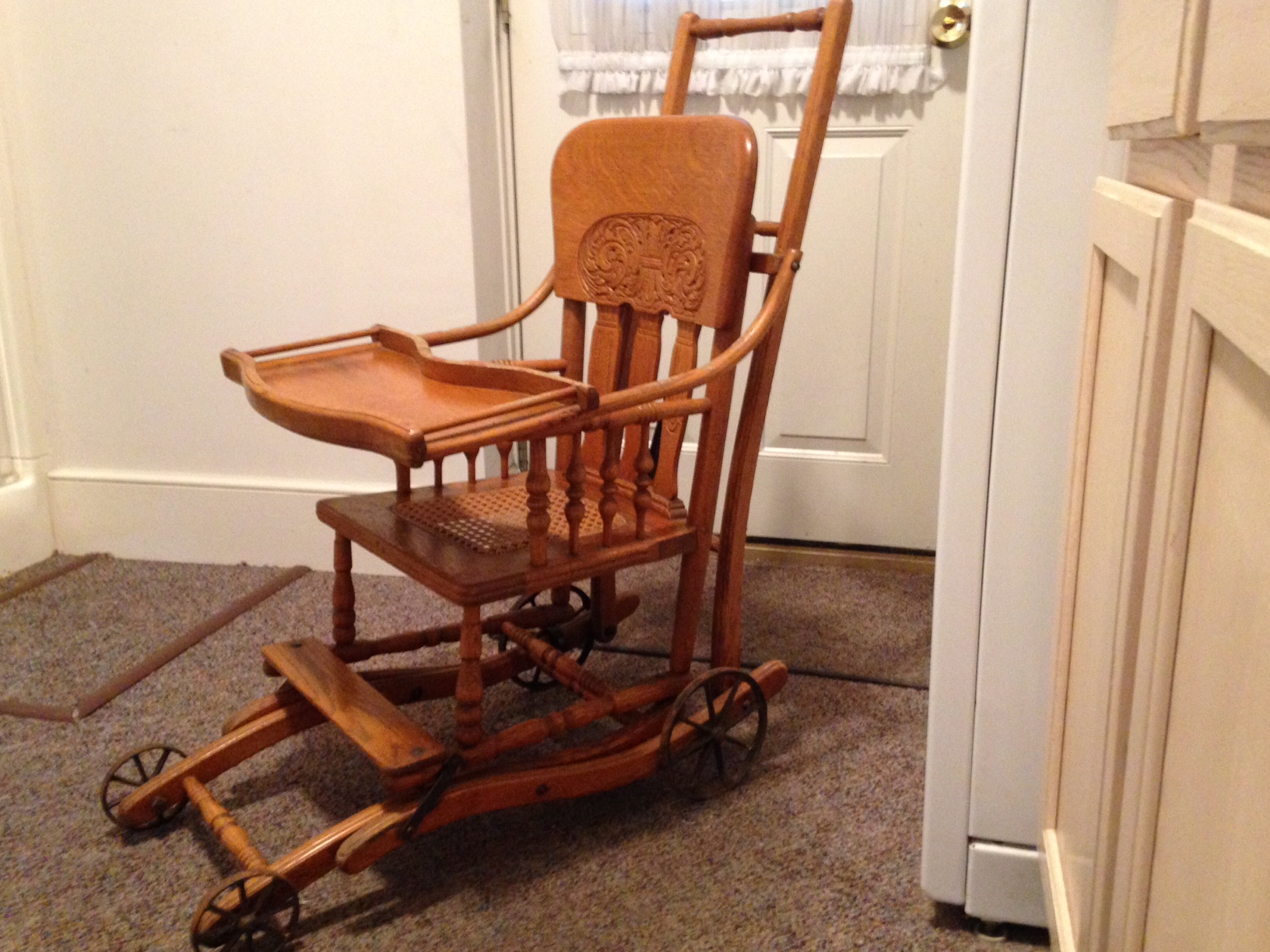 baby high chairs with wheels basket chair hanging the wonda and heirloom plain fancy