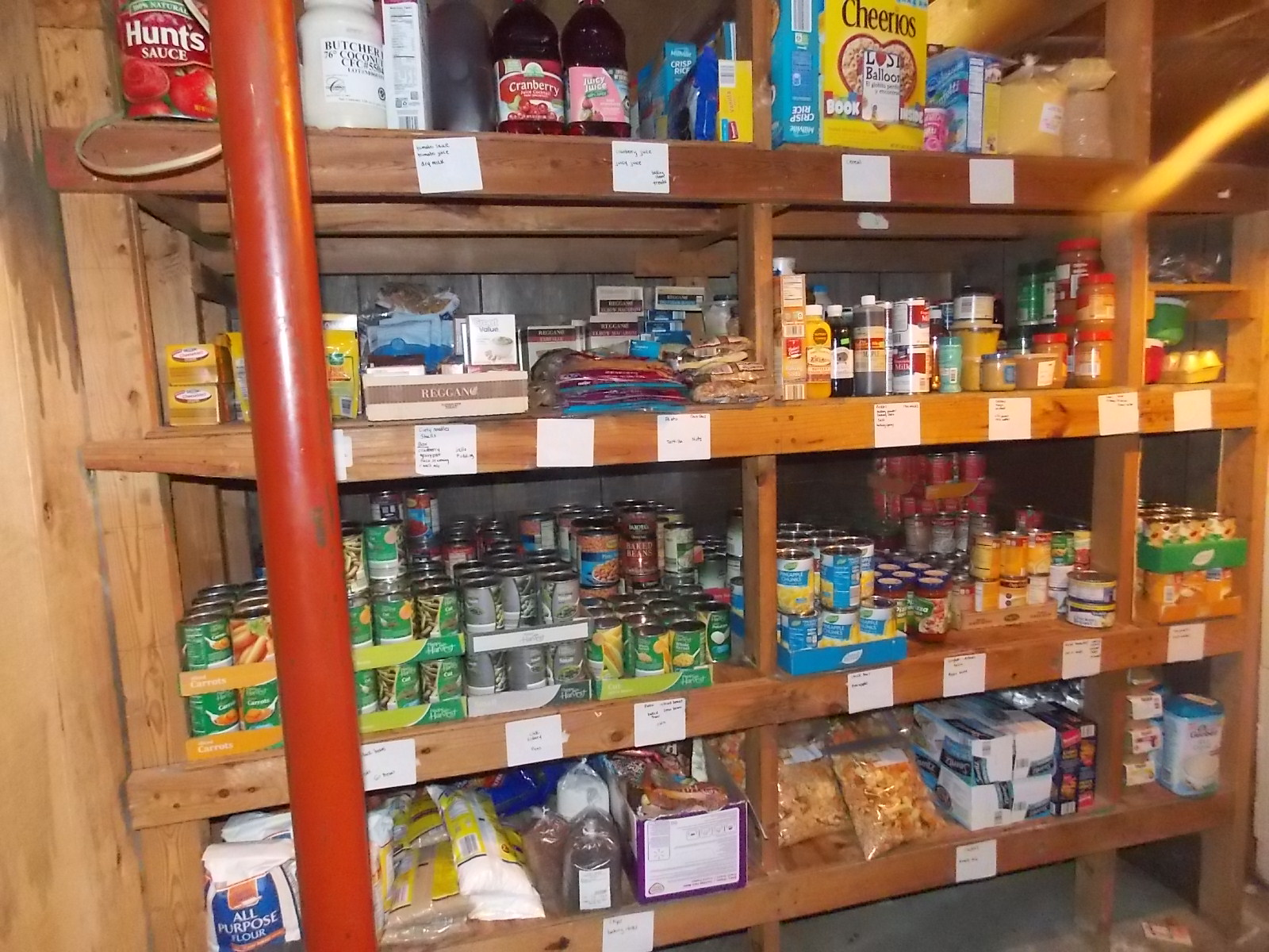 Large Family Organization Tips The Pantry Stocking For