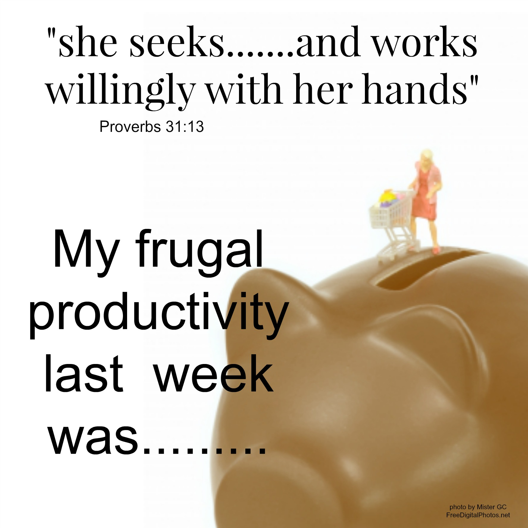 my frugal accomplishments for the week plain and not so plain this past week was insanely busy for me it seemed that everyday we had something we had to do and somewhere that we had to run i just kept thinking