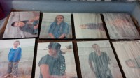 Modge podge photos on wood a diy inexpensive photo hang ...