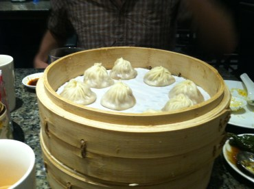 The Xiao Long Bao (Steamed Dumplings) for which the restaurant is famous