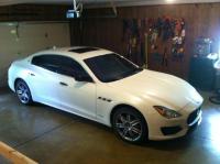 White 2017 Maserati