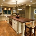 Traditional kitchen with charm and polish plain amp fancy cabinetry