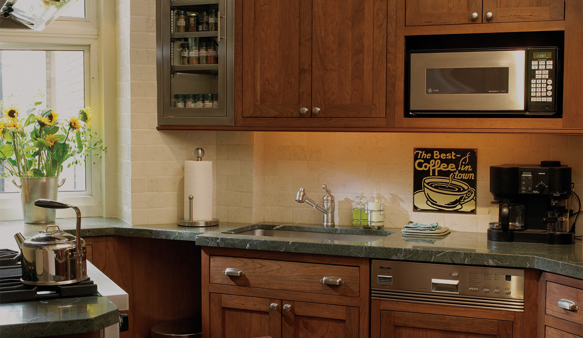 Stylishly Sleek Kitchen Cabinets  Plain  Fancy Cabinetry