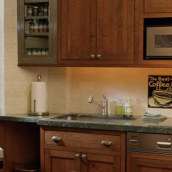 Kitchen Aprons Cost Of Remodel Stylishly Sleek Cabinets | Plain & Fancy Cabinetry