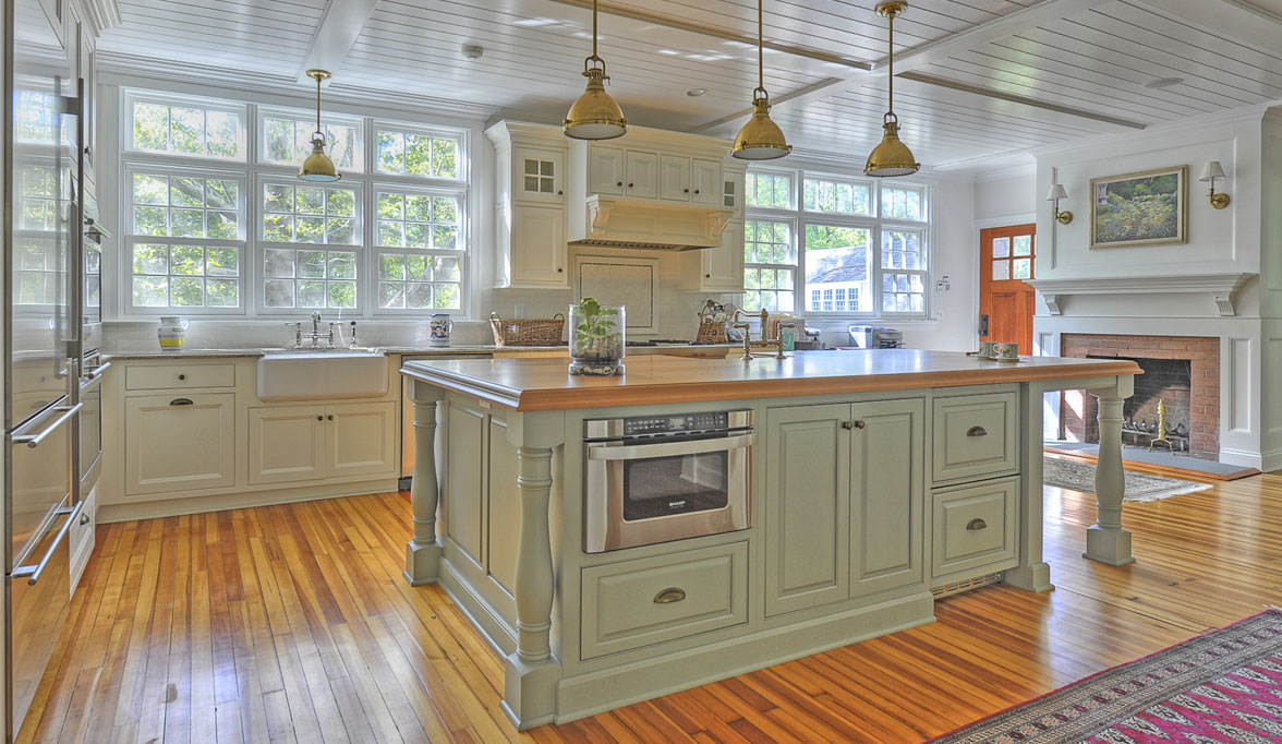 Pleasing Traditional Kitchen Cabinets  Plain  Fancy