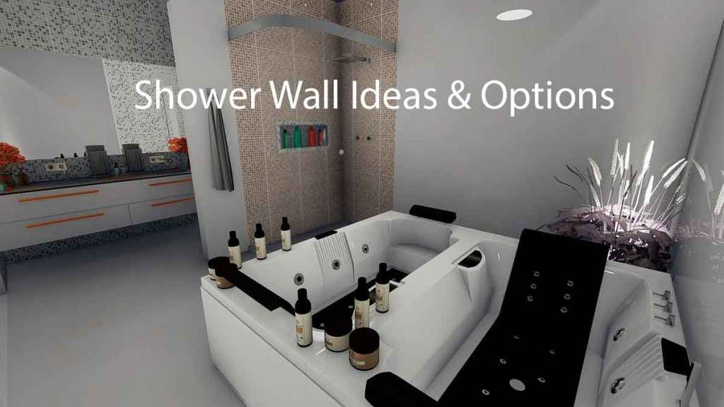 shower wall ideas