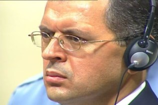 Tihomir Blaškic listening to the judgment (29.07.2004), ICTY