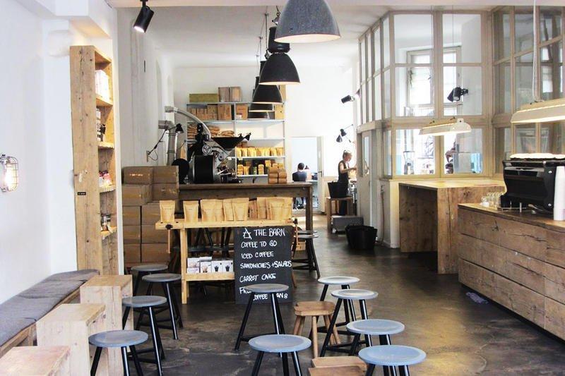 Barn Cafe Auguststrasse Berlin