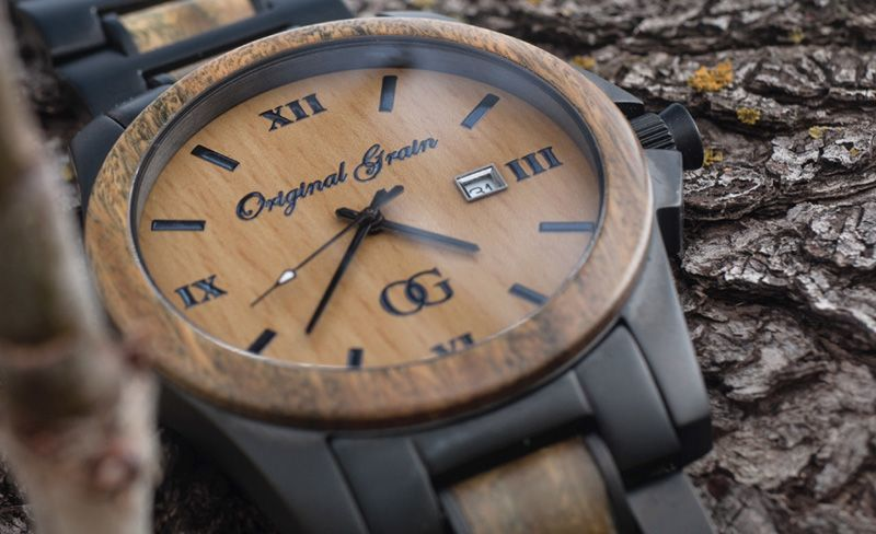 all natural made whiskey by barrel shop wood watch ebony watches