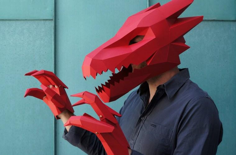 Fold Away With Wintercrofts DIY Geometric Masks