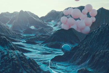 Vibrant Colors And Surreal Imagery Come Together In The