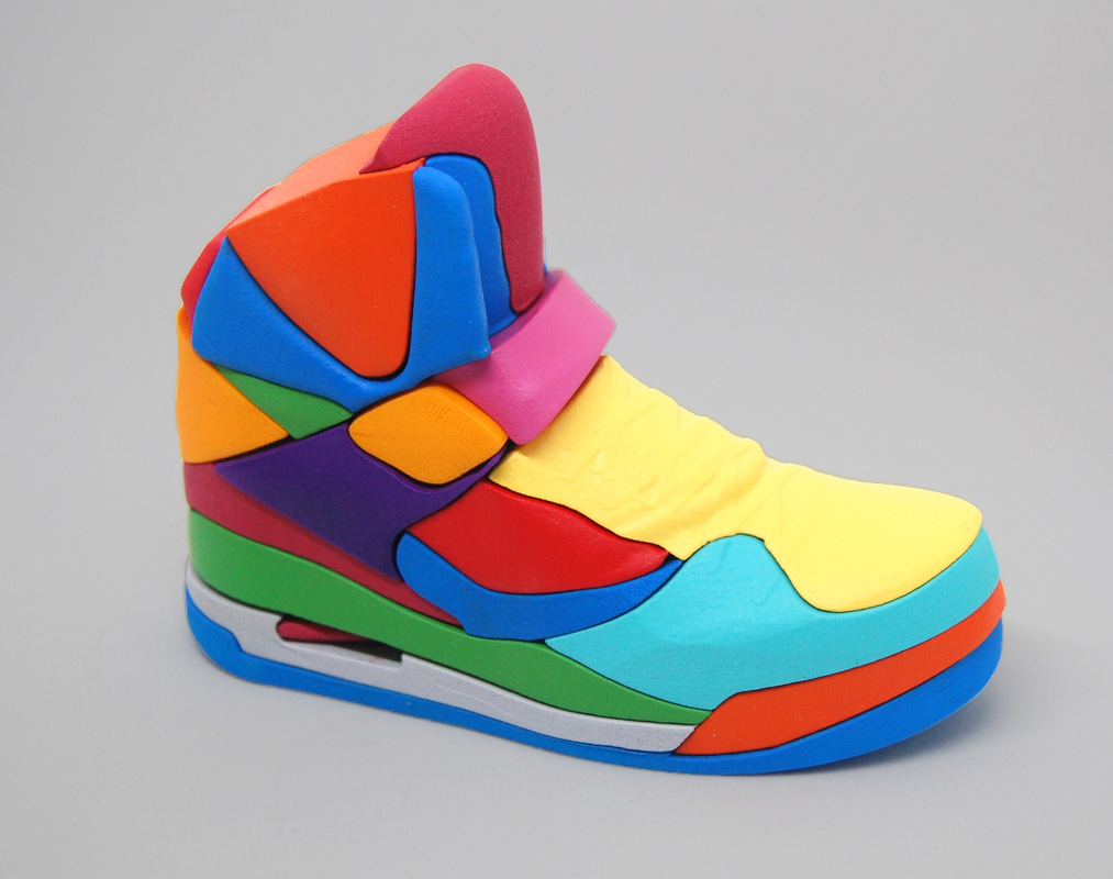 da3546c3c1d4df Nike Air Jordan 3D puzzle by designer Yoni Alter - PLAIN Magazine