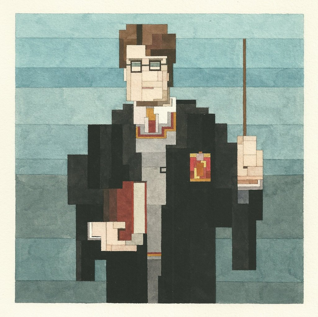 Adam Lister 8 bit Illustration Art