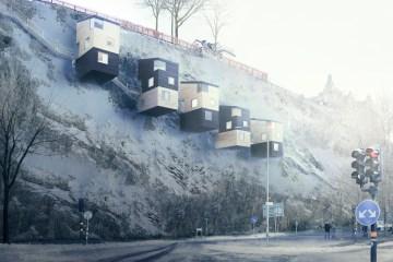 Nestinbox Architecture Cliff Homes