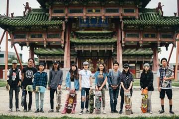 Mongolia skateboarders Uukhai Culture