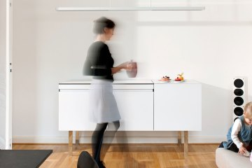 miniki kitchen invisible design