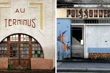Thibaut Derien Abandoned Storefronts Photography