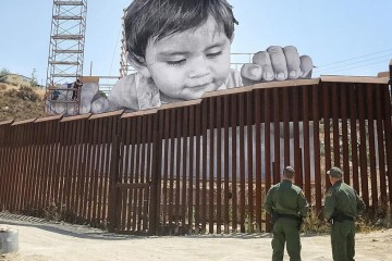 JR Mexican Border Art