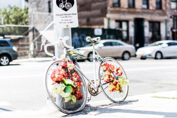 Henry Hargreaves Ghost Bikes Brooklyn Photography