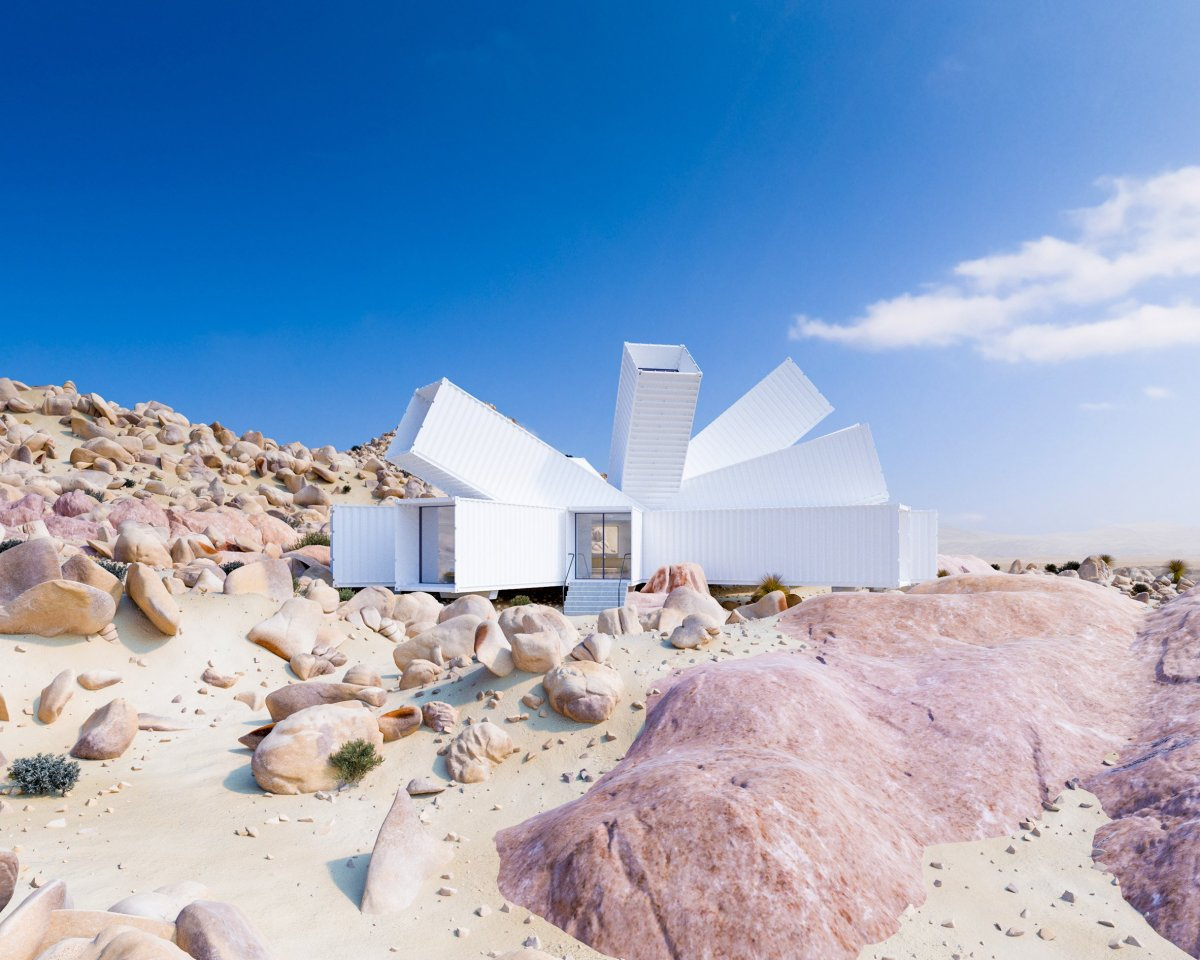 James Whitaker Joshua Tree Residence Architecture