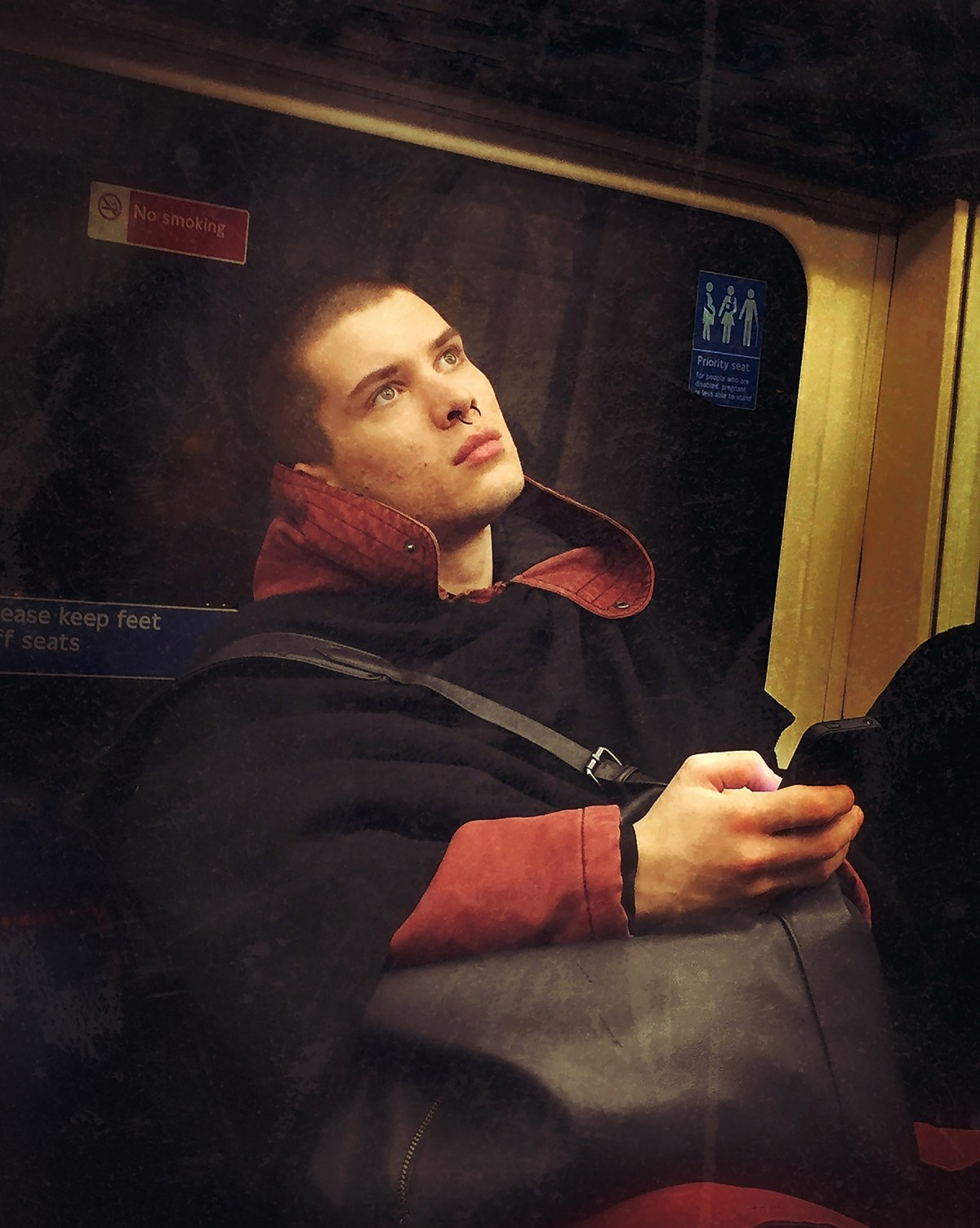 Matt Crabtree 16th Century Tube Passengers Photography