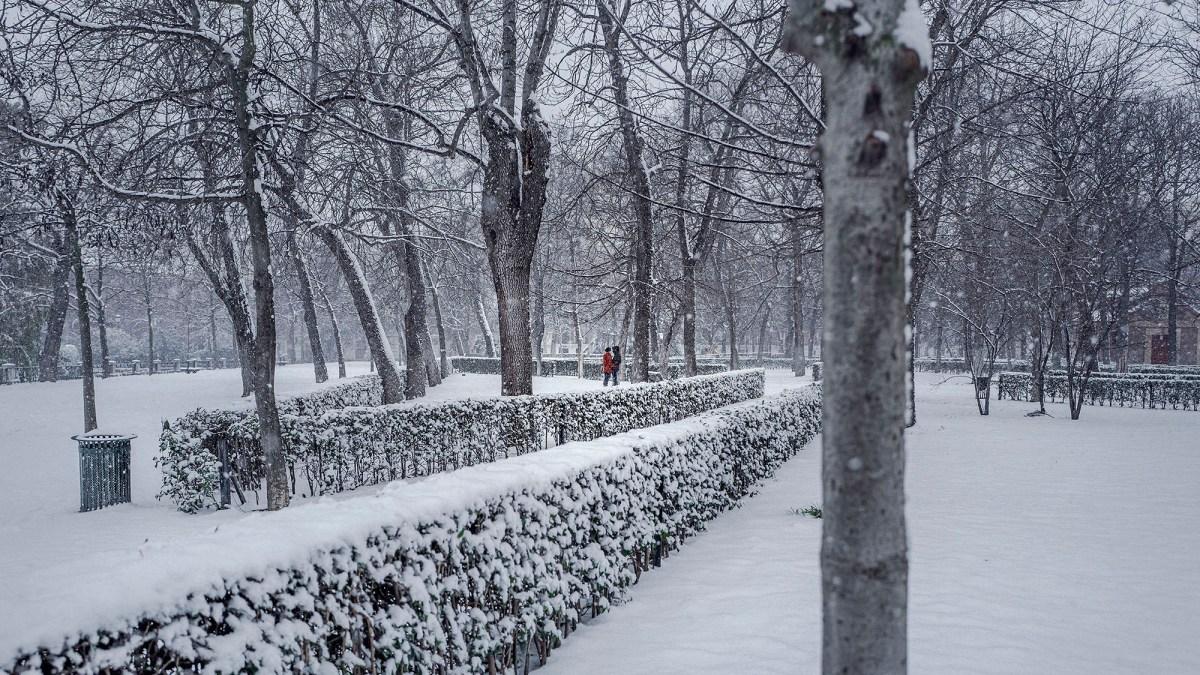 Diego Speroni Madrid Under Snow