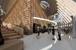 aoe Songdo International City Library