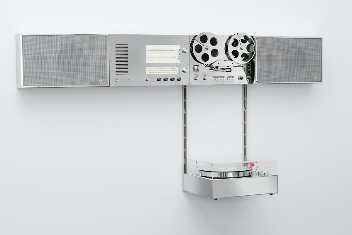 Braun Virgil Abloh Wandanlage Audio system