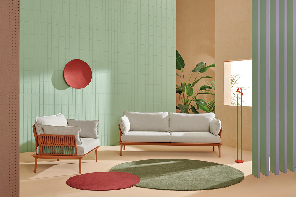 De Gaspé Pedrali Outdoor Furniture Collection