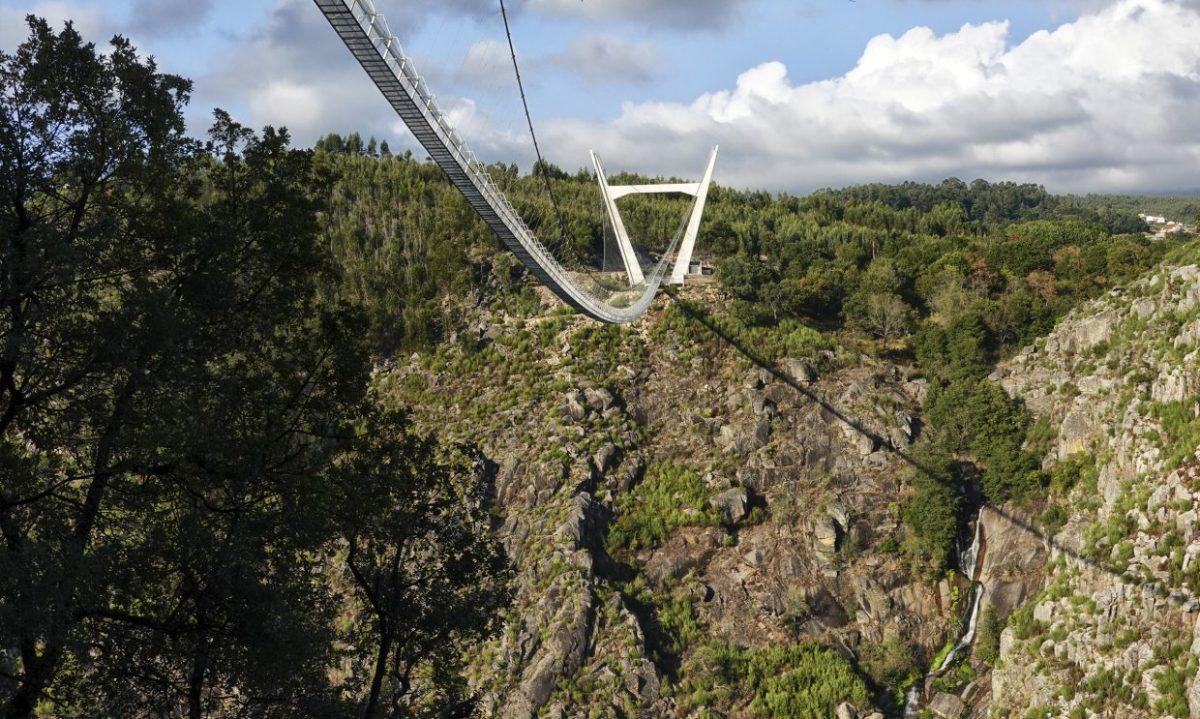 Ponte Arouca Portugal suspension bridge