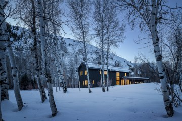 Big Wood Residence Mark de Reus Idaho