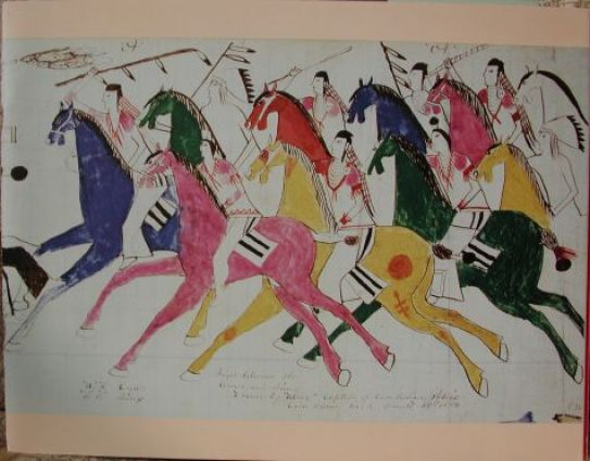 Plains Indian Ledger Art  View Product Ledger Art of the