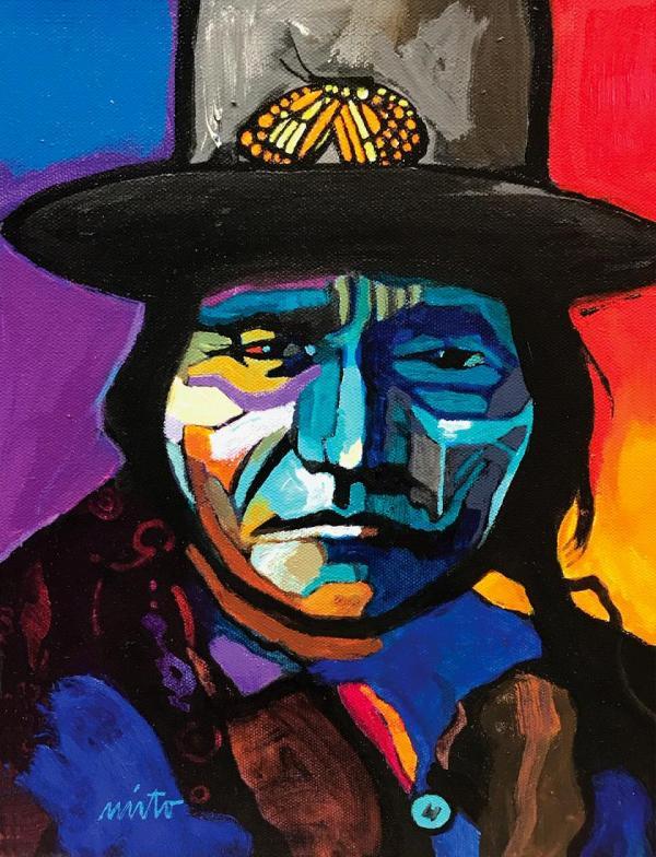 John Nieto Original Paintings Upcoming Show